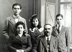 Familia García Lorca.