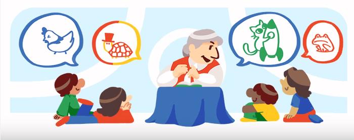 Google doodle de Gloria Fuertes